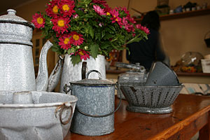 French country jugs and bowls